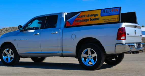 Finally a Pickup Truck Billboard That Doesn't Look Stupid